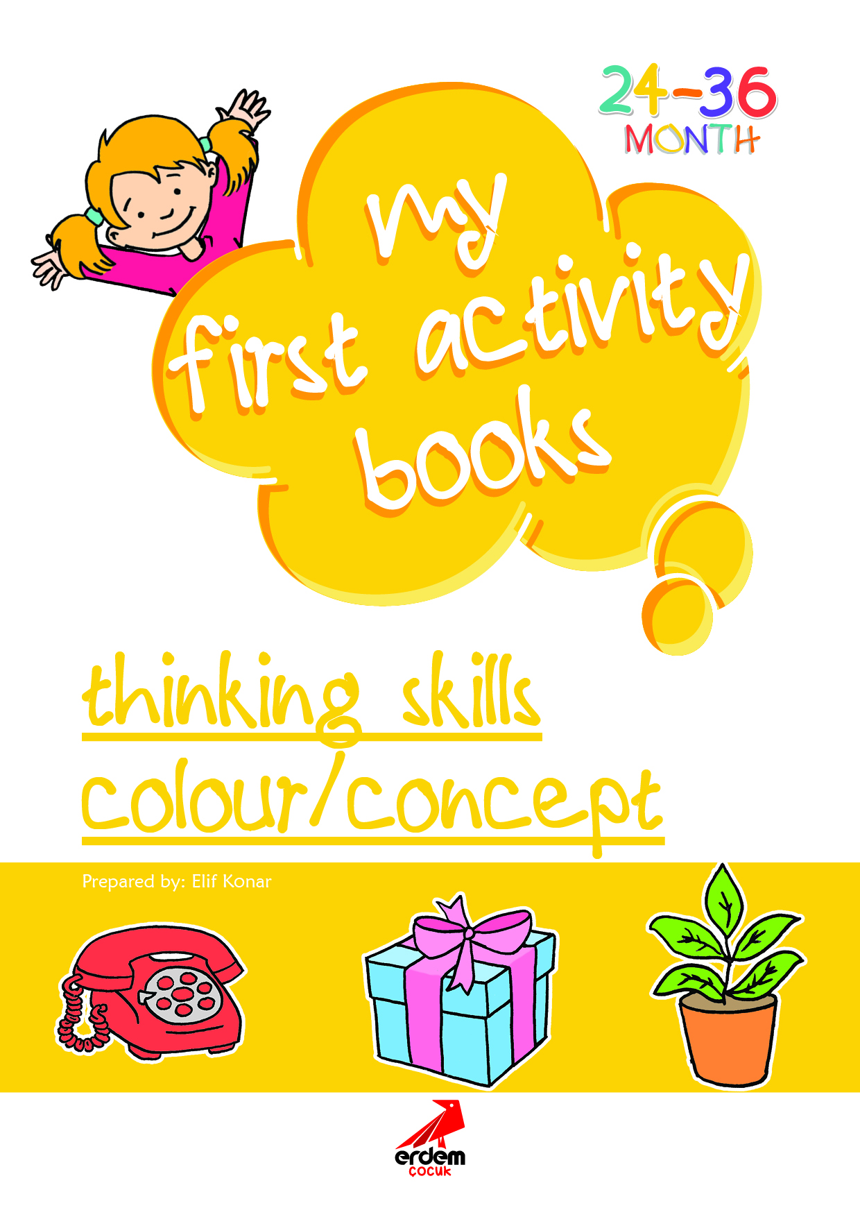 My First Activity Book: Thinking Skills – Colour/Concept